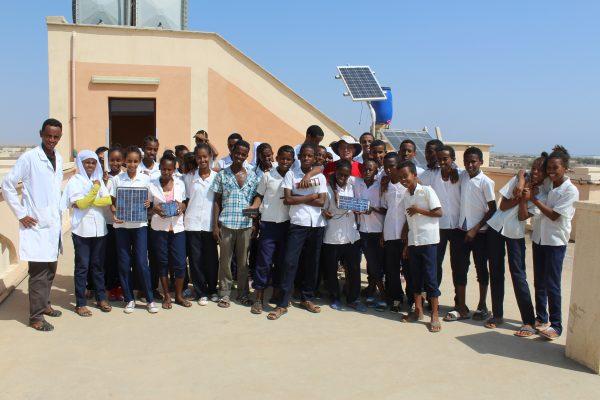Foto Di Gruppo Degli Studenti Eritrei