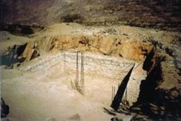 Il Serbatoio Costruito Per La Raccolta Di Acqua Piovana