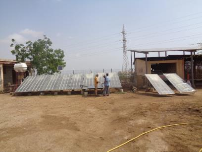 PODINI FOUNDATION SOLAR STILL