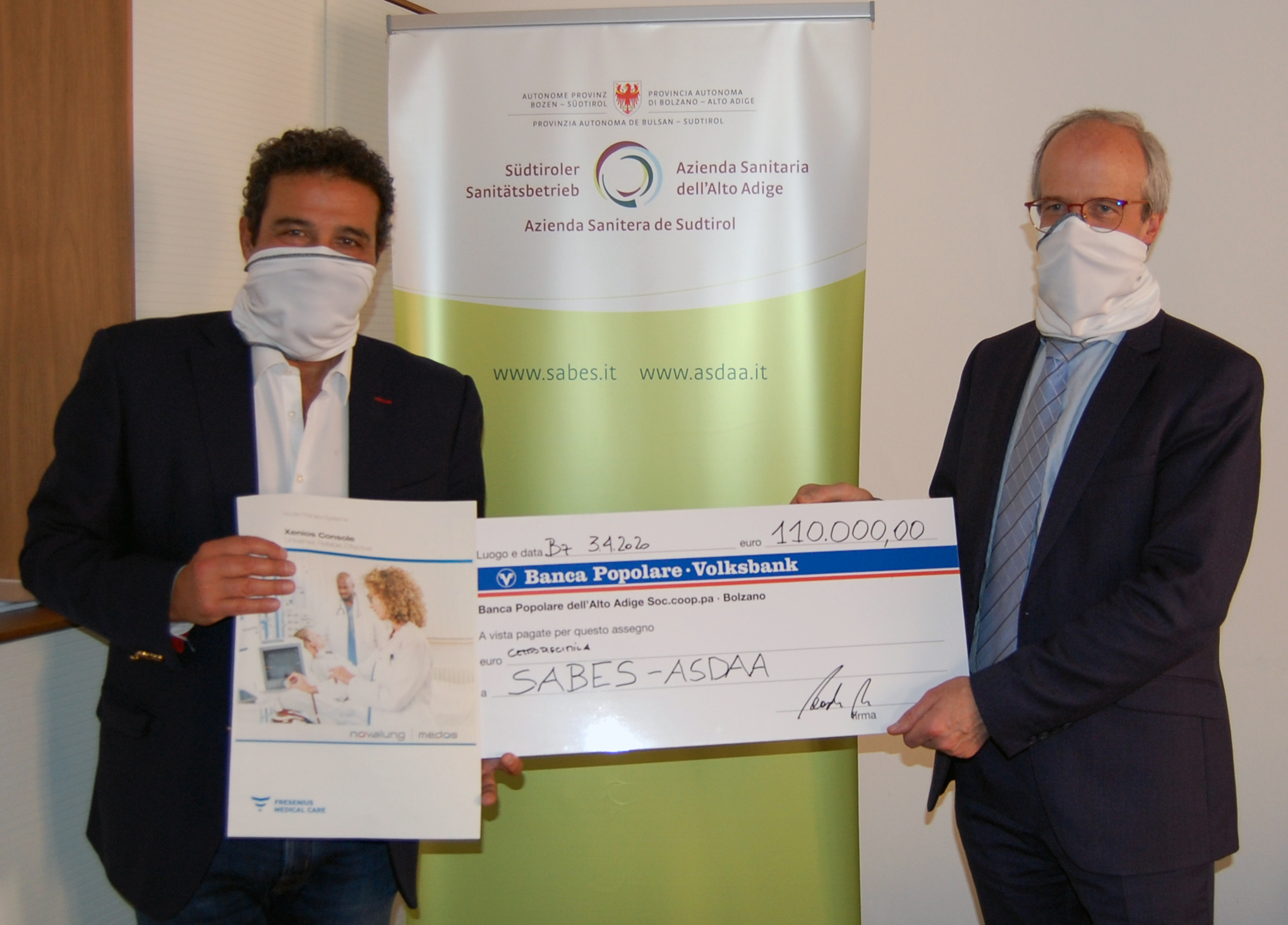 A LIFE-SAVING MACHINE IS AVAILABLE THANKS TO THE PODINI FOUNDATION